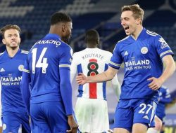 Sempat Tertinggal, Leicester City Bungkam Crystal Palace 2-1