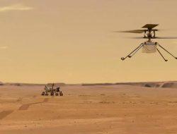 NASA Terbangkan Helikopter Mini di Mars, Gelora: Tantangan Buat Indonesia