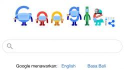 Unik, Google Doodle Hari Ini Bermasker