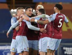 Hasil Liga Inggris: Aston Villa Pecundangi Everton 2-1