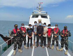 Ditangkap Aparat Malaysia, KKP Bebaskan Lima Nelayan Indonesia