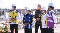 Presiden Tinjau Pembangunan Jalan Tol Semarang-Demak
