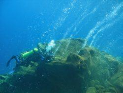 Melihat Uniknya Cerobong Bawah Laut Sangihe