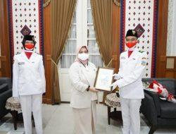 Lolos Tingkat Nasional dan Provinsi, Pemkab Garut Berikan Penghargaan Paskibraka