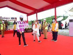 Presiden Joko Widodo Resmikan Bendungan Paselloreng Wajo