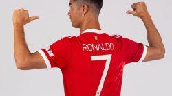 Cuma 12 Jam, Penjualan Jersey Ronaldo di MU Tembus 642 Miliar