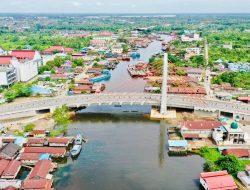 Presiden Minta Jembatan Sei Alalak Segera Dibuka