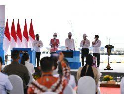 Merger BUMN Pelabuhan Diresmikan Presiden Jokowi