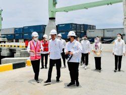 Presiden Joko Widodo Resmikan Terminal Multipurpose Wae Kelambu Pelabuhan Labuan Bajo
