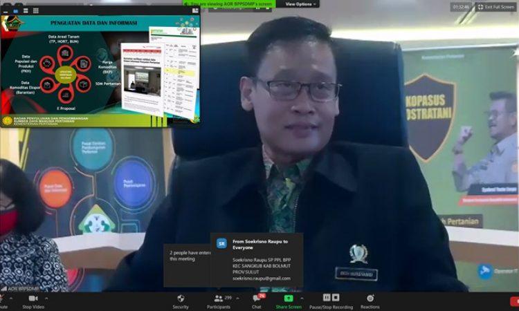 Kepala Badan Penyuluhan dan Pengembangan SDM Pertanian (BPPSDMP) Kementerian Pertanian Dedi Nursyamsi.