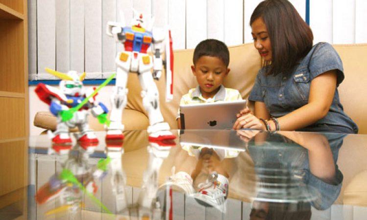 Ilustrasi anak. Foto Jawa Pos