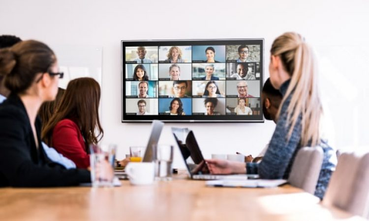 Ilustrasi Video Conference (Foto: Zoom)